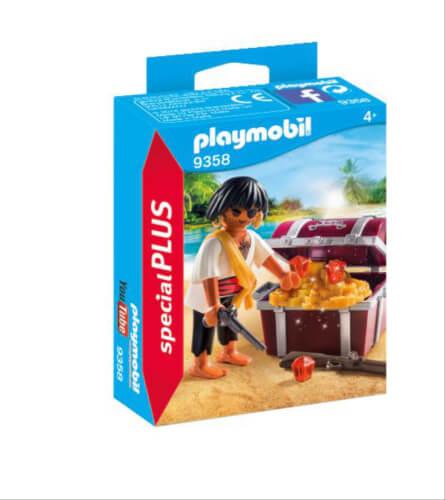 Playmobil 9358 Pirat mit Schatzkiste