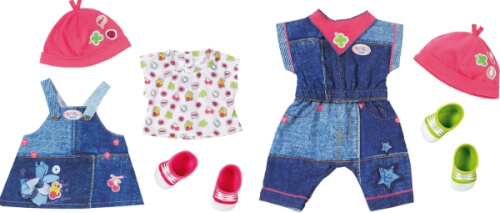 Zapf BABY born® Deluxe Jeans Collection, ab 3 Monate
