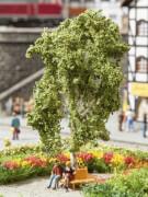 H0 Baum mit Ruhebank 11,5 cm