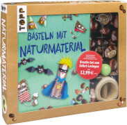TOPP Kreativ-Set Basteln mit Naturmaterialien