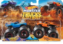 Mattel GJY45 Hot Wheels Monster Trucks 1:64  2er-Pack Muscle Car