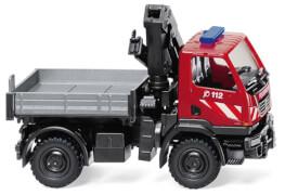 Wiking Feuerwehr - Unimog U 20 mit Ladekran