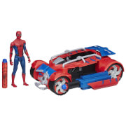 Hasbro B9703EU4 Spider-Man Web City 6 Hero Racer