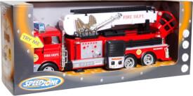 Speed Zone Feuerwehr mit Licht und Sound, ca. 43x15x10 cm, ab 3 Jahren