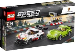 LEGO® Speed Champions 75888 Porsche 911 RSR und 911 Turbo 3.0, 391 Teile