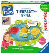 Ravensburger 045471 ministeps® Unser ustiges Tierparty-Spiel