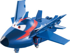 Super Wings Transforming Agent Chace