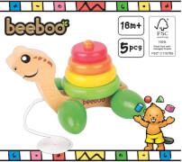 Beeboo Nachzieh-Schildkröte mit Stapelringen