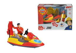 Simba Feuerwehrmann Sam - Jet Ski ''Juno'' inkl. Figur