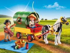 Playmobil 6948 Ausflug mit Ponywagen