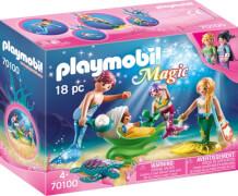 Playmobil 70100 Familie mit Muschelkinderwagen