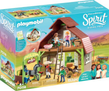 Playmobil 70118 Stall mit Lucky, Pru & Abigail