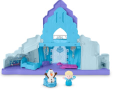 Mattel GLM38 Fisher-Price Little People Frozen Elsas Eispalast (D)