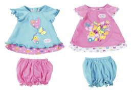 Zapf BABY born® Babykleidchen Schmetterling sortiert