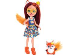 Mattel FXM71 Enchantimals Felicity Fox & Flick