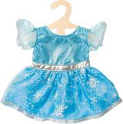 Heless 2720 - Puppen-Kleid Eis-Prinzessin, Größe 35-45 cm