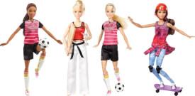 Mattel Barbie - Made to Move Sportlerin, sortiert