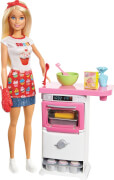 Mattel Barbie FHP57 ''Cooking & Baking'' Bäckerin Spielset