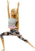 Mattel FTG81 Barbie Made to Move Puppe (blond)