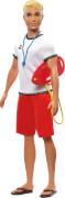 Mattel FXP04 Barbie Ken Career Puppe Rettungsschwimmer