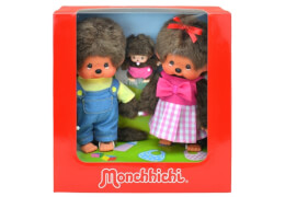 Monchhichi Family Set, ca. 20 cm