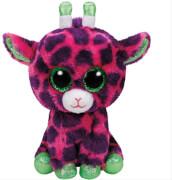 TY Gilbert,Giraffe pink/lila 15cm