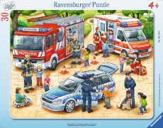 Ravensburger 06145 Puzzle Spannende Berufe 30 Teile