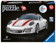 Ravensburger 125289 Puzzle 3D Porsche 911 R 108 Teile