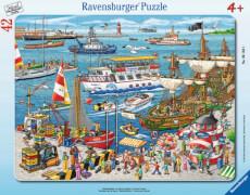 Ravensburger 061631 Puzzle: Hafenrundfahrt, 30-48 Teile