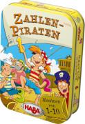 HABA - Zahlen-Piraten, für 2 Spieler, ca. 10 min, ab 5 Jahren