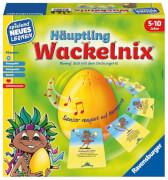 Ravensburger 250479 Häuptling Wackelnix, Lernspiel