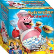 Schweine Schwarte, Würfelspiel, für 2-4 Spieler, ca. 20 min, ab 4 Jahren