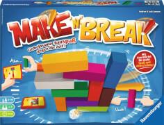 Ravensburger 267507 Make n Break Neuauflage, Bauspiel-Klassiker
