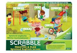 Mattel FTG51 Scrabble Practice & Play - Spielend Englisch lernen