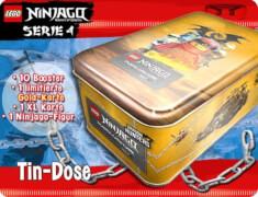 LEGO Ninjago 4 Tin Dose groß