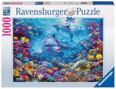 Ravensburger 198337 Puzzle: Prächtige Unterwasserwelt 1000 Teile