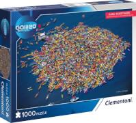 Clementoni Puzzle Galileo Kanu Kunstwerk 1000 Teile