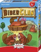 AMIGO 01857 BiberClan, Kartenspiel, für 2-6 Spieler, Spieldauer: ca. 20 Min, ab 7 Jahren