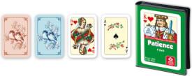 ASS Patience, französisches Bild. Kartenspiel
