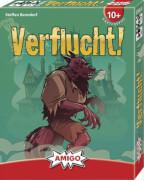AMIGO 01803 Verflucht!, Kartenspiel, für 1-5 Spieler. Spieldauer: ca. 15 Min, ab 10 Jahren