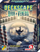 Deckscape - Raub in Venedig, Escape Room Kartenspiel, ab 12 Jahren, Spieldauer ca. 60 Min