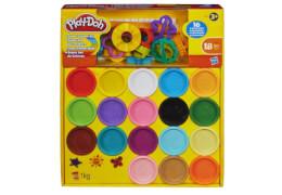 Hasbro A4897E25 Play-Doh Super Farbenkiste mit Zubehör