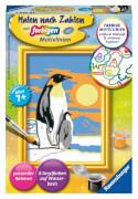Ravensburger 284665 Malen nach Zahlen Süße Pinguine Serie F