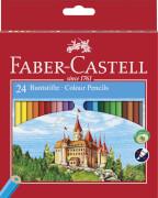 Faber-Castell Farbstift CASTLE Karton 24er