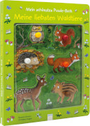 Grimm, Sandra/Kugler, Christine: Mein schönstes Puzzle-Buch # Meine liebsten Waldtiere. Ab 24 Monate.