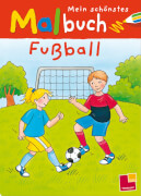 Tessloff Mein schönstes Malbuch Fußball, Taschenbuch, 32 Seiten, ab 5 Jahren