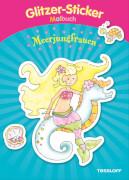 Tessloff Glitzer- Stück Malbuch Meerjungfrauen, Taschenbuch, 32 Seiten, ab 5 Jahren
