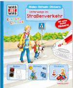 Tessloff WAS IST WAS Kindergarten Malen Rätseln Stickern Unterwegs im Straßenverkehr