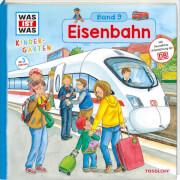 WAS IST WAS Kindergarten Band 9 - Eisenbahn, Klappenbuch, 12 Seiten, ab 3 Jahren.