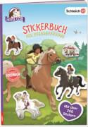 SCHLEICH® Horse Club - Stickerbuch für Pferdefreunde, 16 Seiten, ab 6 Jahren